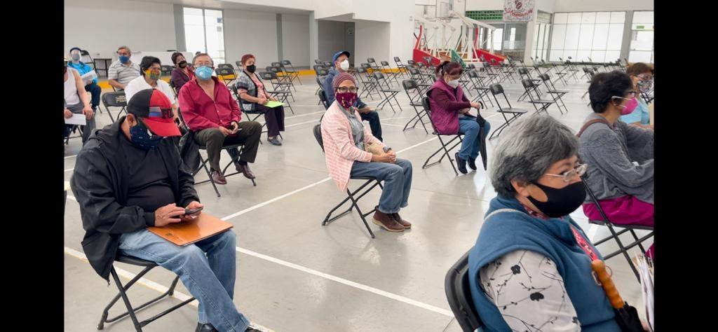 Suman 120 mil vacunas aplicadas a adultos mayores de Ecatepec - Mar 2, 2021