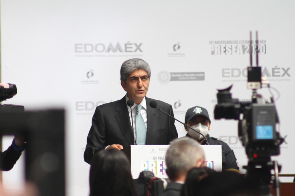 Reafirma Alfredo del Mazo adhesión al Pacto Federal - Mar 2, 2021