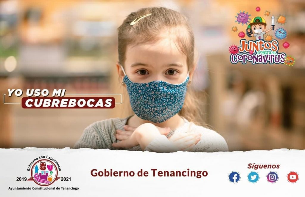 Lanza Tenancingo campaña de prevención contra COVID-19 en Semana Santa - Mar 30, 2021