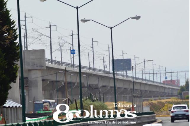 Avance de 99.7% en construcción del Tren Interurbano México-Toluca - Mar 30, 2021
