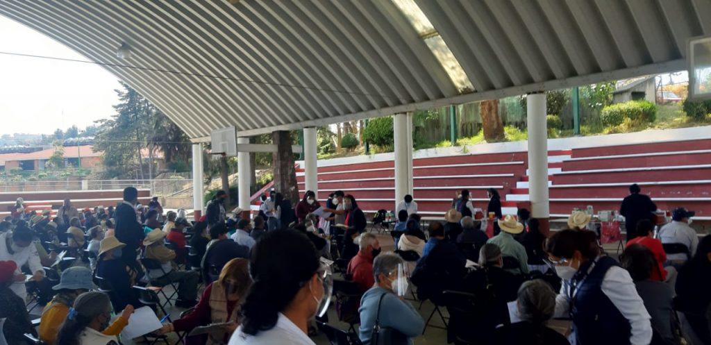 Inicia vacunación contra COVID19 en Tenancingo - Mar 9, 2021