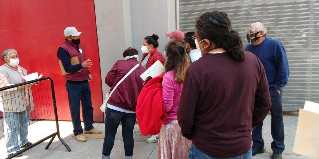 Continúa vacunación contra COVID19 en Toluca - Mar 12, 2021