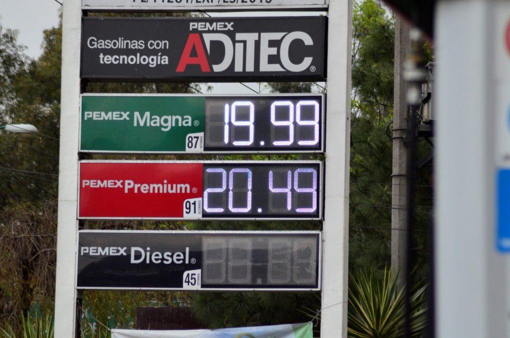 ¿Cómo va el precio de la gasolina en el Valle de Toluca? - Mar 12, 2021
