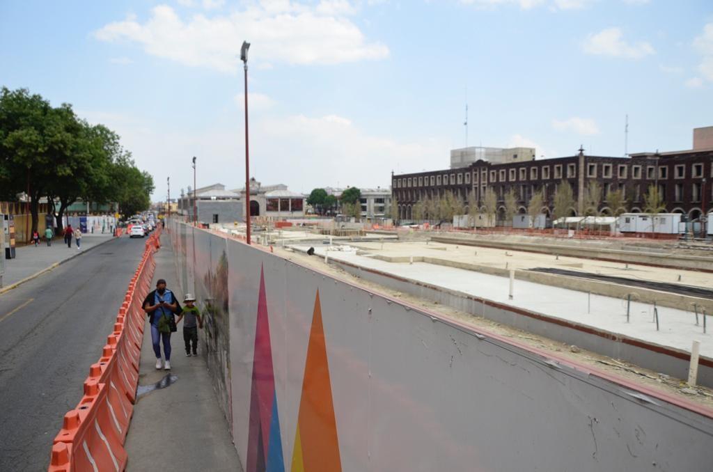 Parque de la Ciencia en Toluca lleva un 75% de avance - Mar 17, 2021