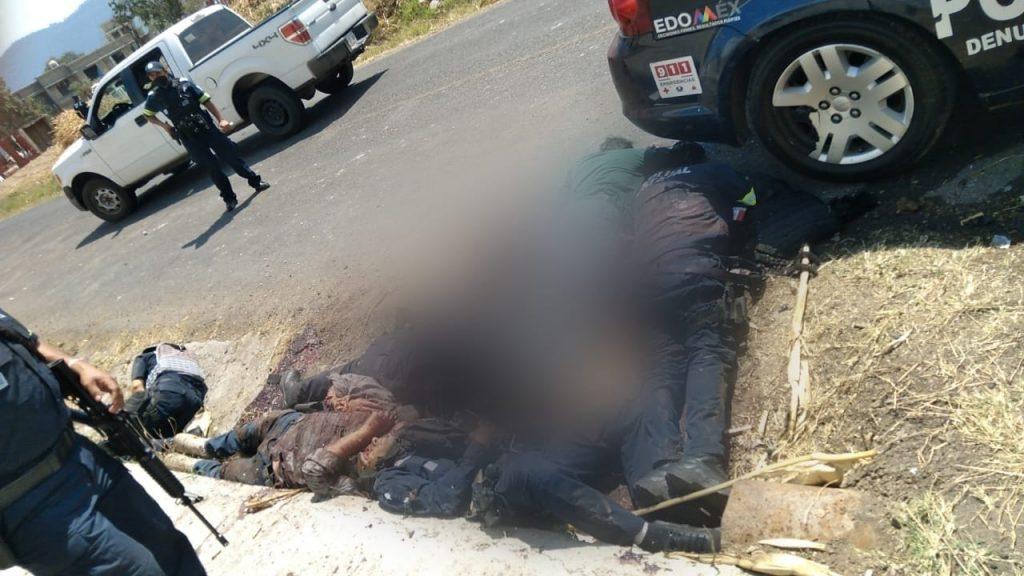 En emboscada matan a 10 policías en Edoméx - Mar 18, 2021