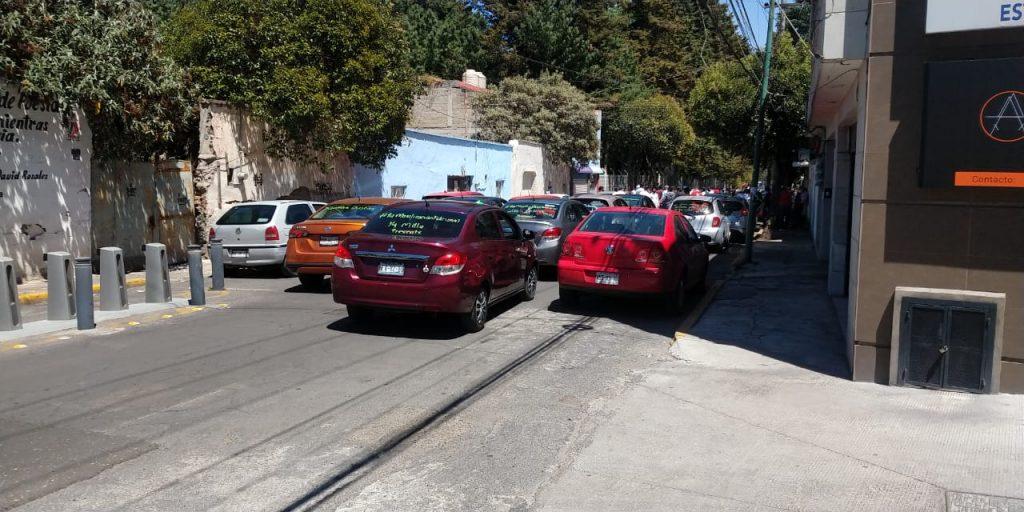 Conductores y repartidores de app´s realizan paro en Toluca - Mar 24, 2021