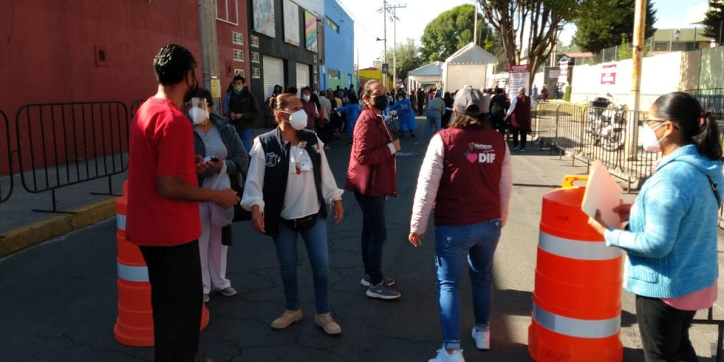 Inicia vacunación contra COVID19 en Metepec - Mar 26, 2021
