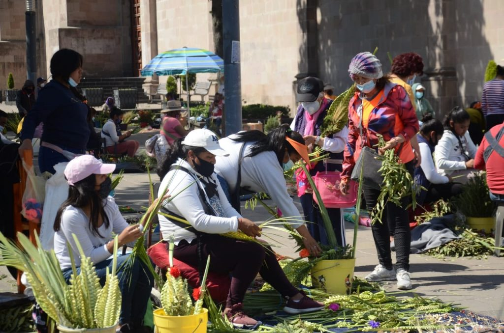 Fieles celebran Domingo de Ramos en Toluca - Mar 28, 2021