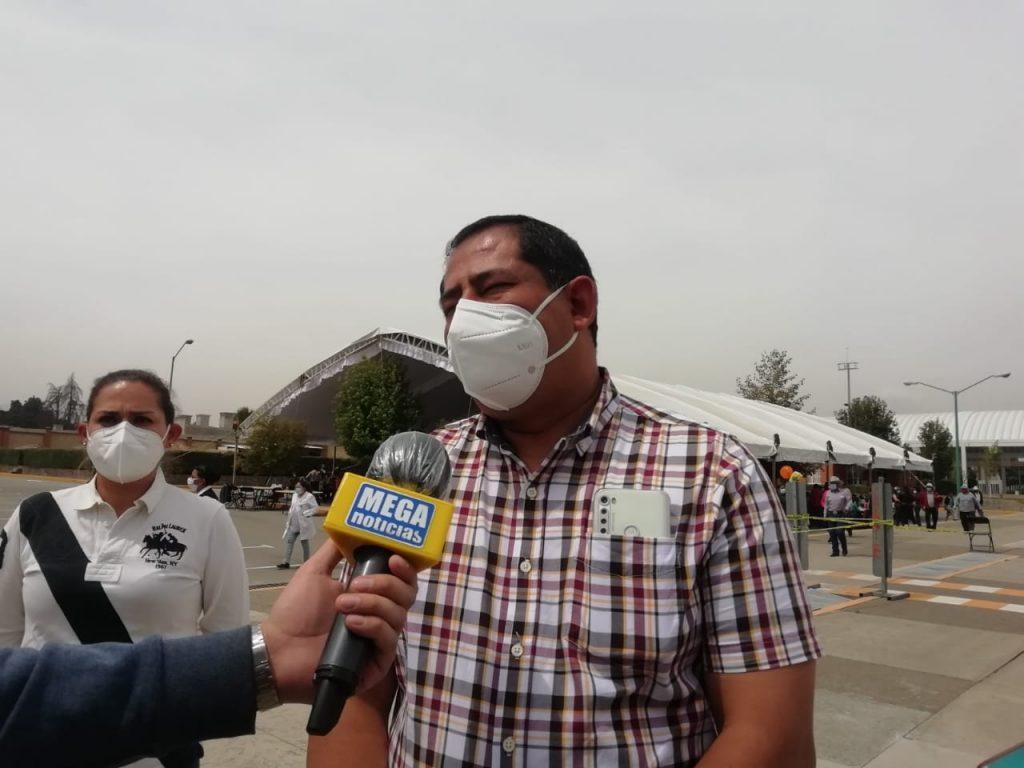 En Zinacantepec se vacunó a adultos mayores de otros municipios: alcalde - Mar 29, 2021