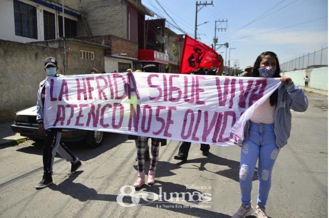 En Lerma militantes de Morena rechazan imposición de candidato - Abr 5, 2021