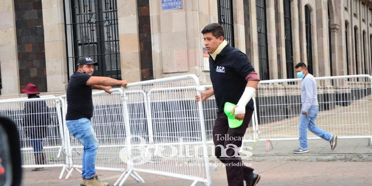 Exigen justicia para activista golpeado por policías de Toluca - Abr 12, 2021