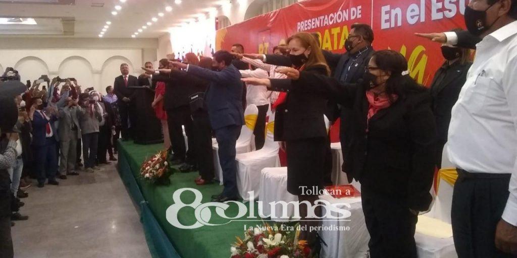 PT Edoméx presenta a candidatos a diputados federales - Abr 9, 2021