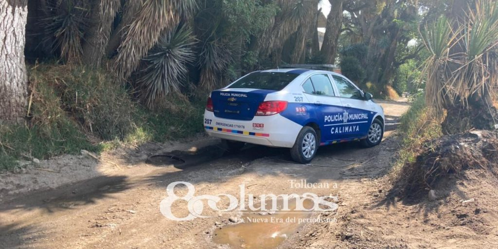 Vecinos hallan cadáver en camino al Arenal, Santa María Nativitas - Abr 14, 2021