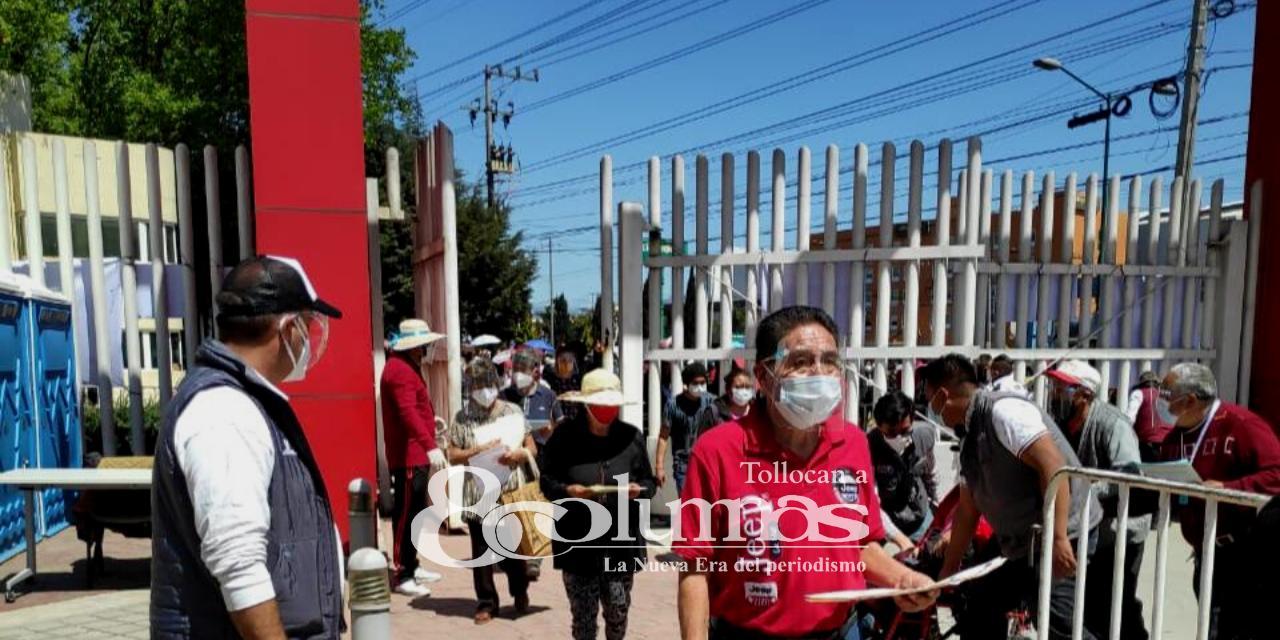 Iniciará segunda etapa de vacunación en Toluca - Abr 8, 2021