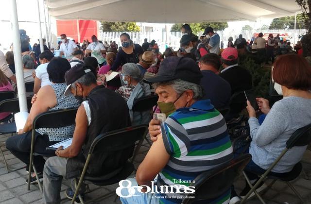 Mismas sedes de vacunación contra COVID en Toluca - Abr 9, 2021