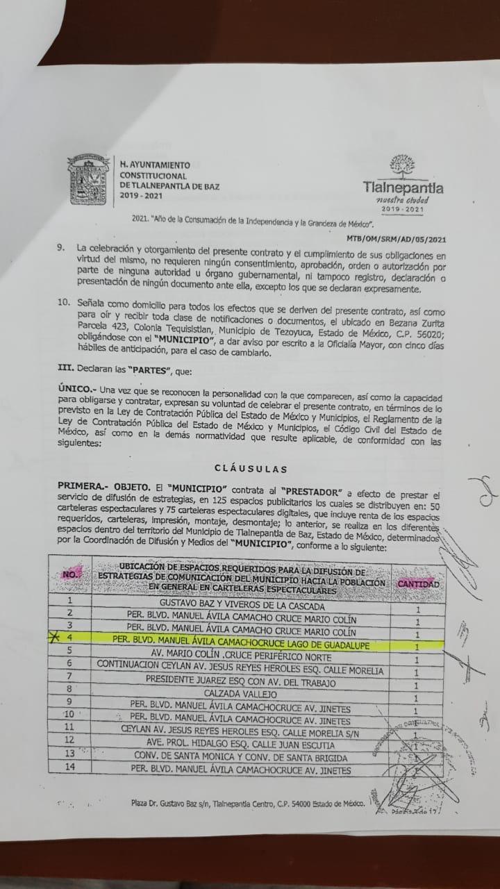 Denuncia regidora posible desvío de recursos en Tlalnepantla - Abr 11, 2021