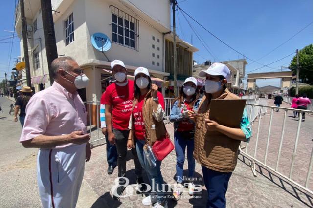 Inicia vacunación contra COVID en Lerma - Abr 1, 2021