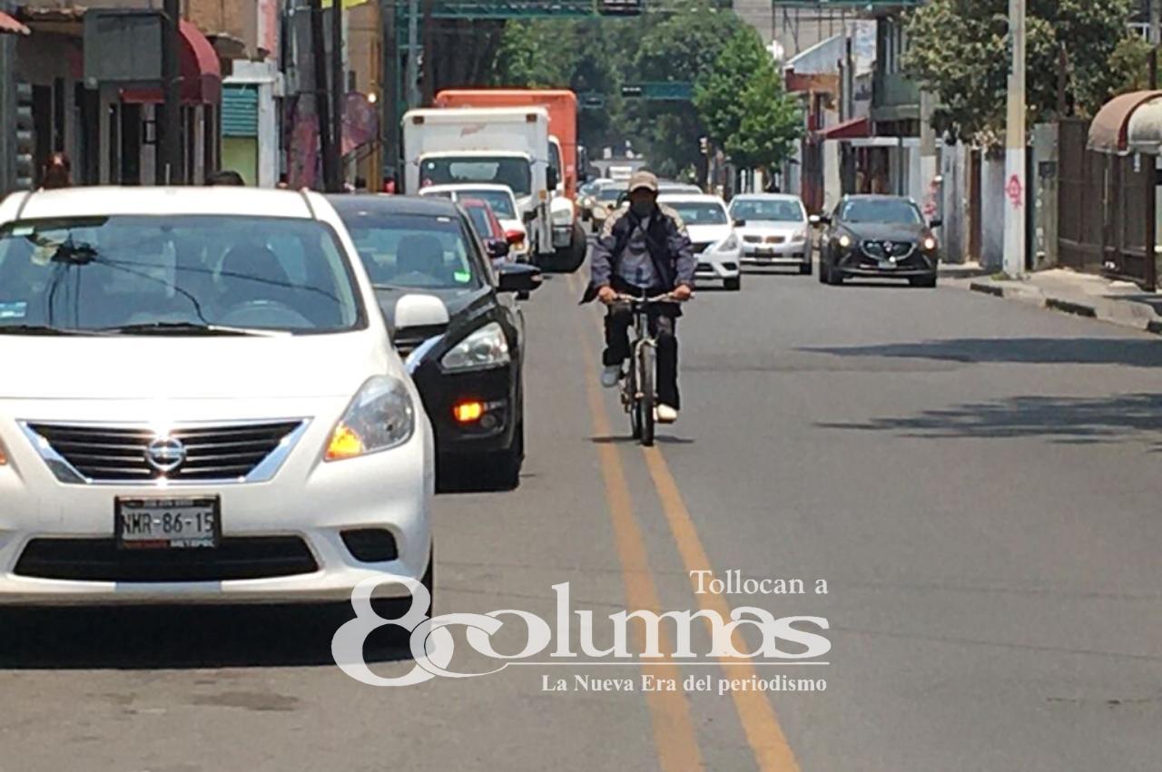 Avanza ciclovía de Paseo Colón en Toluca - Abr 21, 2021