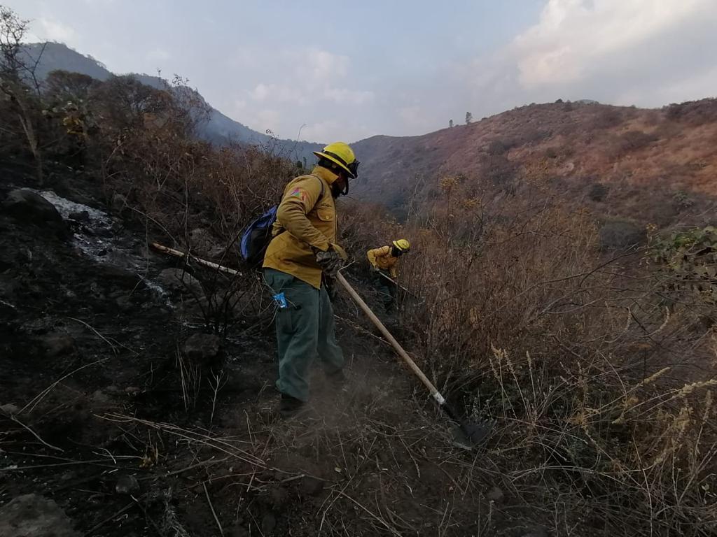Liquidan incendio en Parque Sierra de Guadalupe - Abr 14, 2021