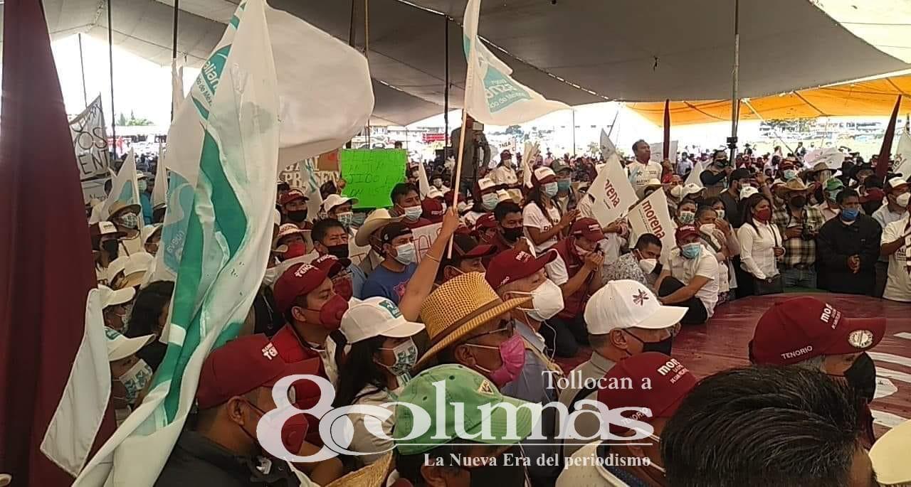San Felipe del Progreso avanzará por todos: Alejandro Tenorio Esquivel - May 2, 2021