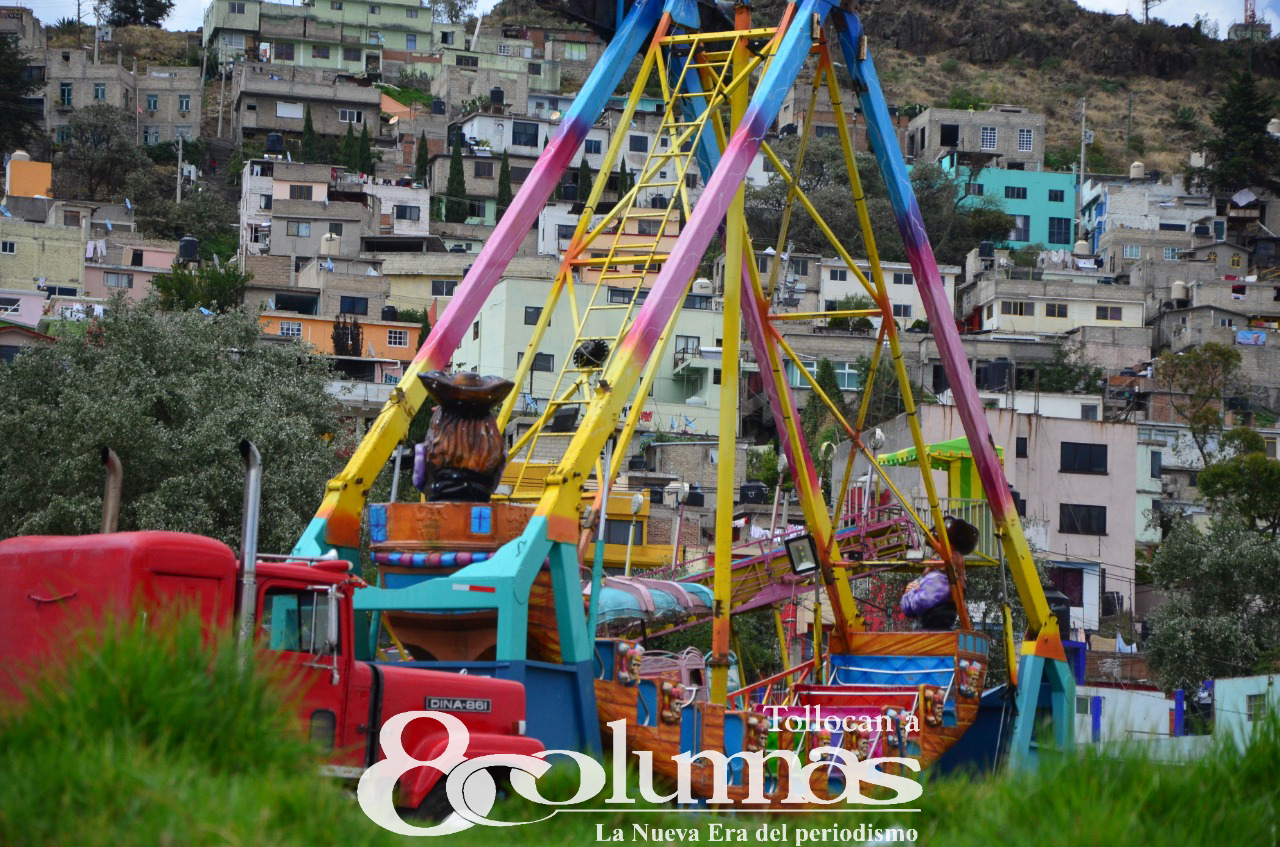 Sin permiso, regresan ferias a Toluca - May 25, 2021
