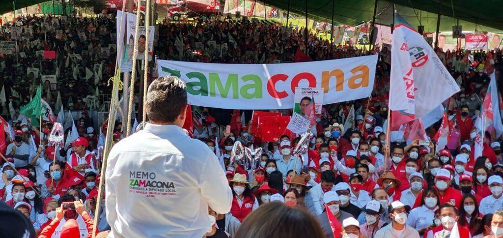 El PRI ya ganó Huixquilucan y el Distrito 17: Memo Zamacona - May 30, 2021