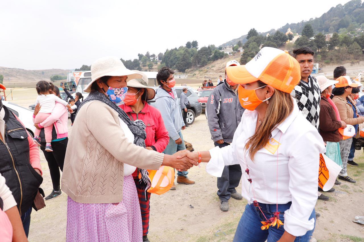 Ruth Salinas asegura que MC es la mejor opción para San Felipe del Progreso - May 5, 2021
