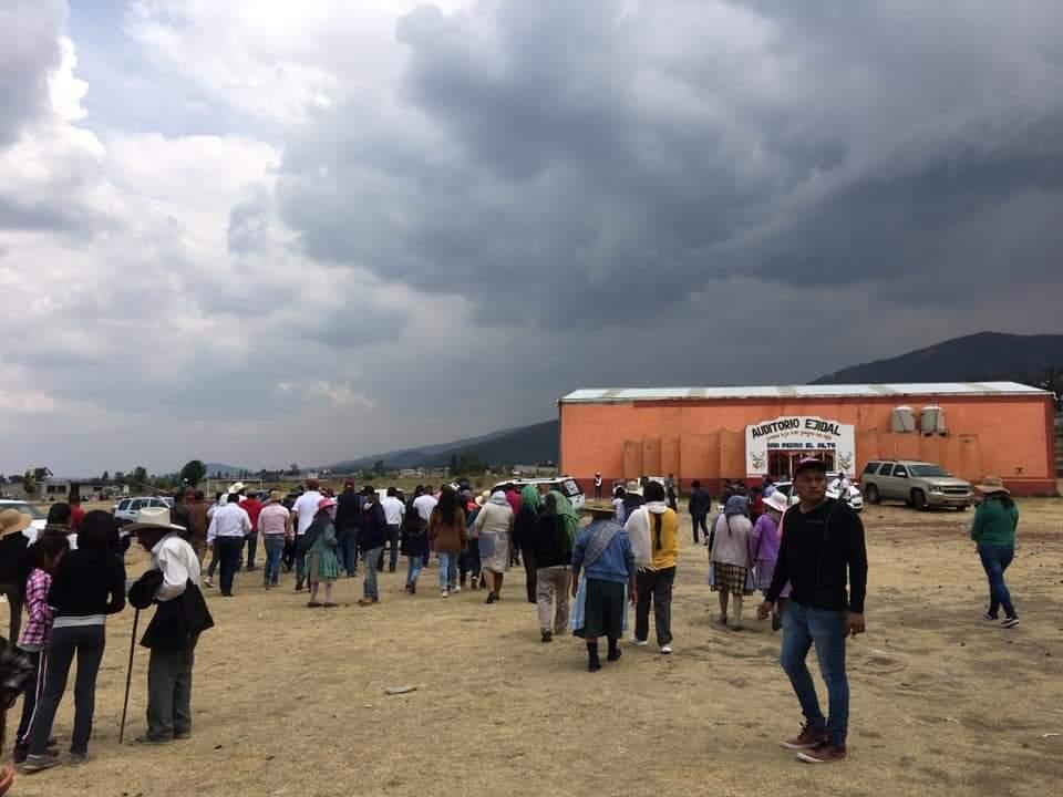 Taxistas Antorchistas violentan evento de Morena en San Felipe del Progreso - May 9, 2021