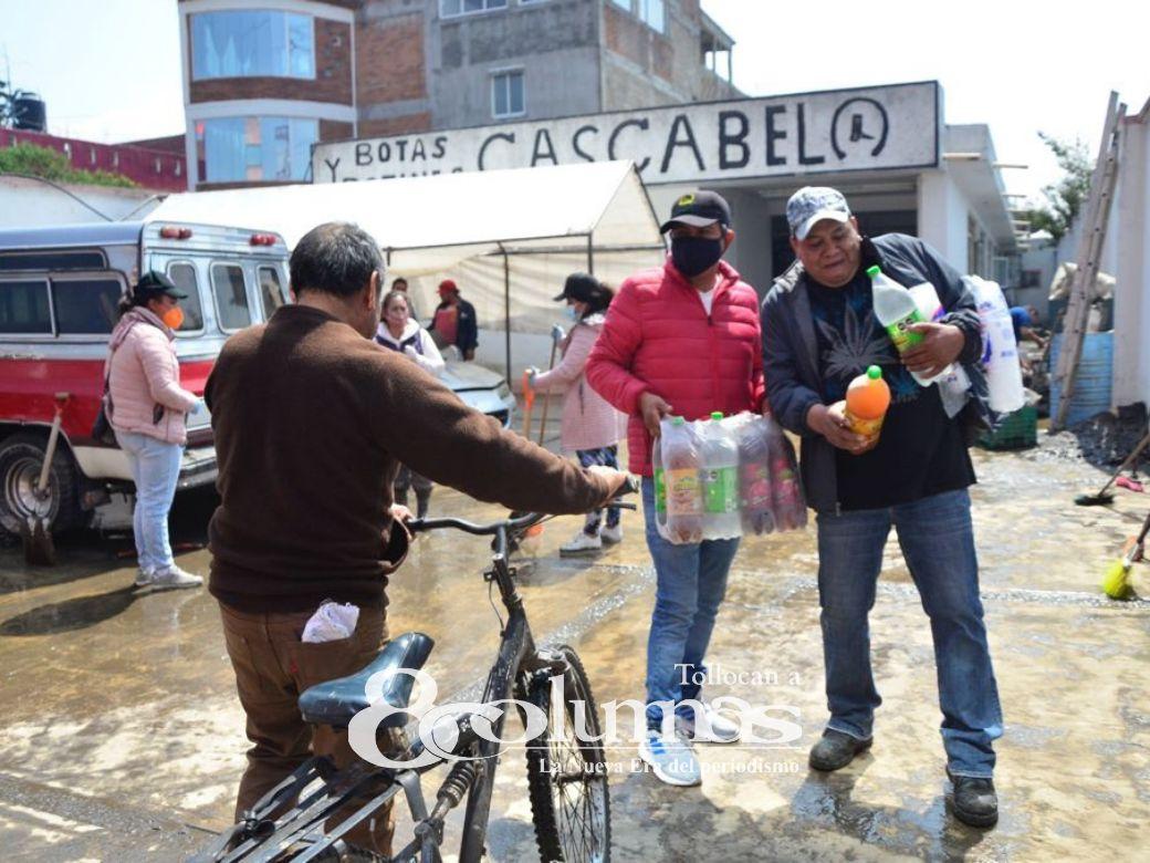 Tormenta tropical Andrés generó inundaciones en el Valle de Toluca - May 10, 2021