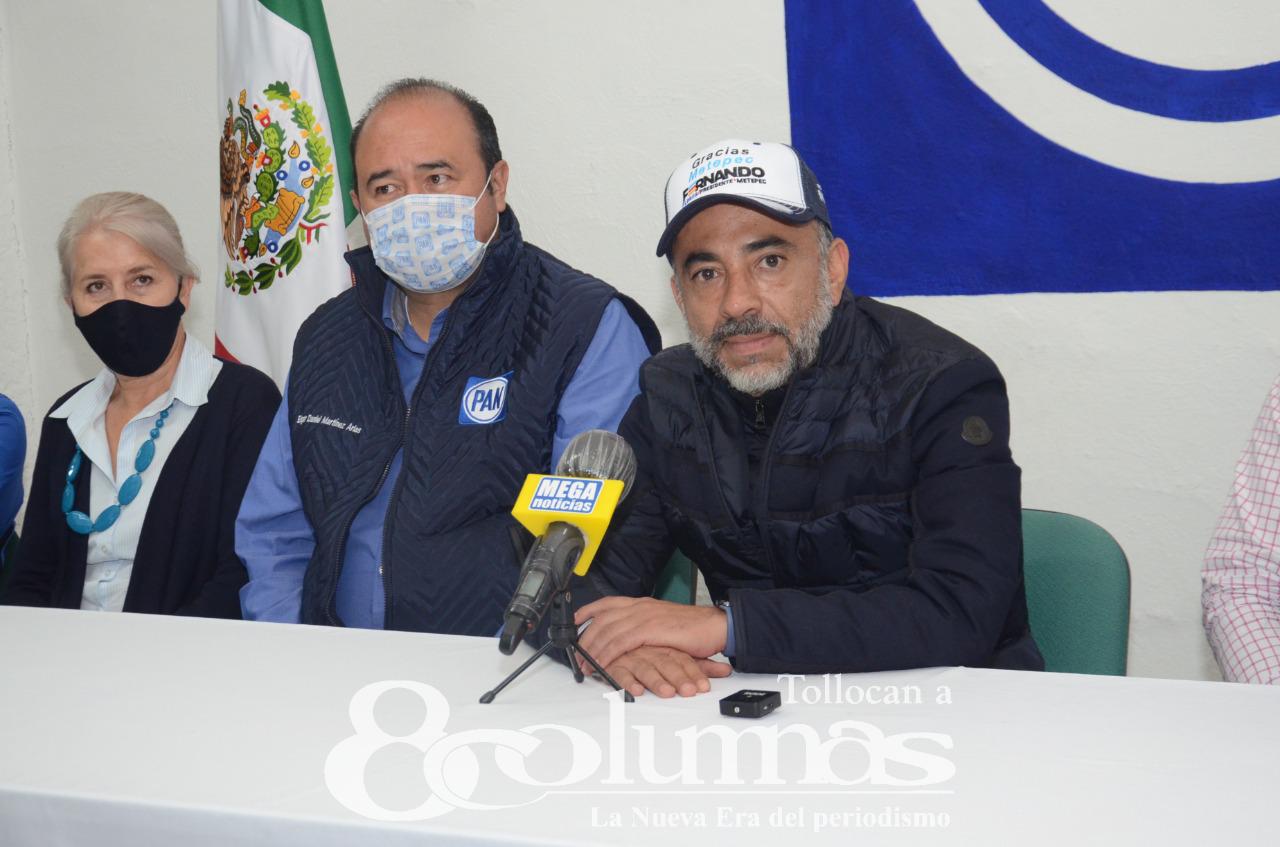 Fernando Flores se proclama ganador en Metepec - Jun 6, 2021