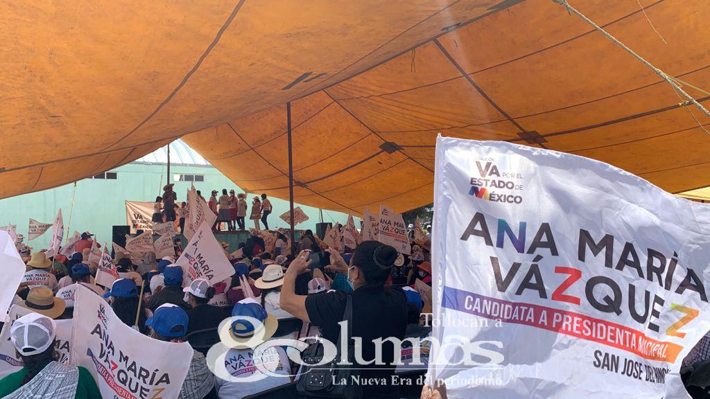 Quiero ser un gobierno cercano a la gente: Ana María Vázquez - Jun 1, 2021