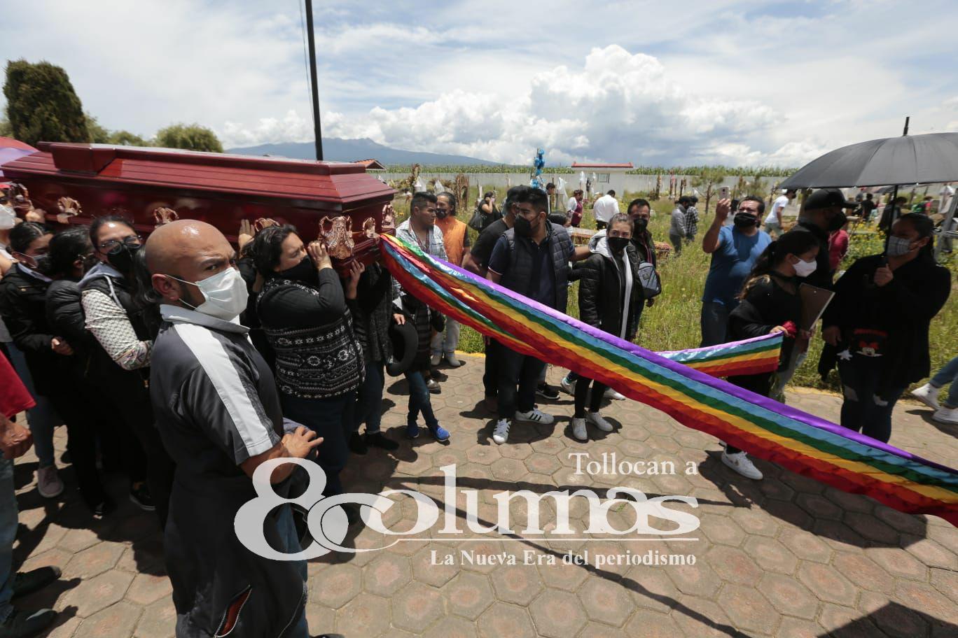 Despiden a Aline, mujer trans de Mexicaltzingo - Jul 21, 2021