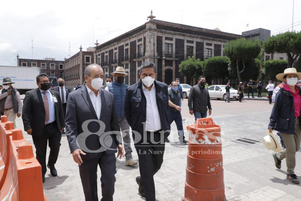 Alcalde de Toluca concluye protesta - Jul 21, 2021