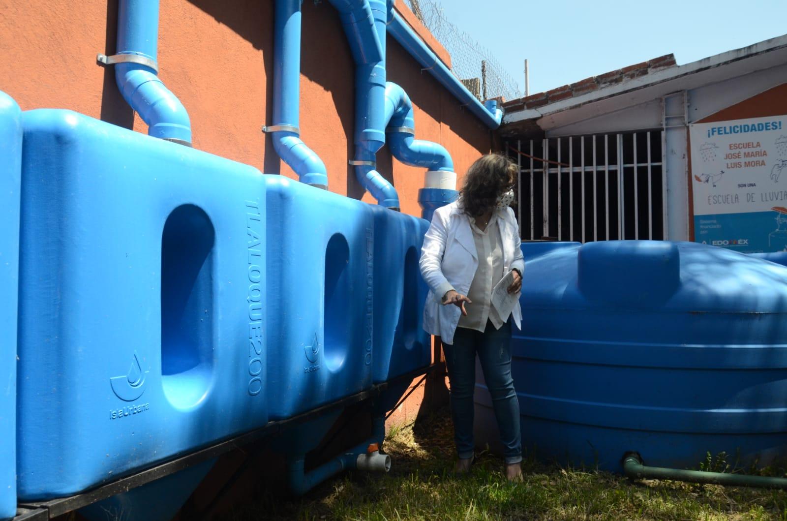"""""""Cosecha"""" de agua de lluvia garantiza regreso seguro a las aulas - Jul 21, 2021"""