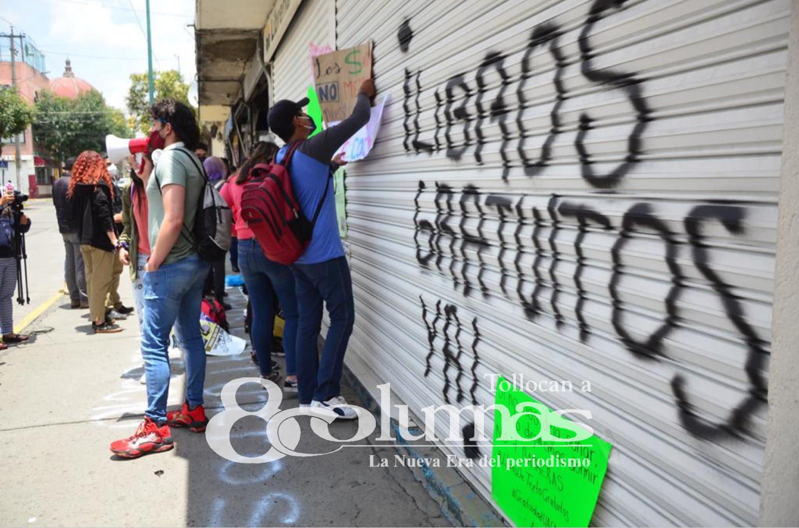 Solicitan estudiantes de UAEMéx gratuidad de libros - Jul 12, 2021