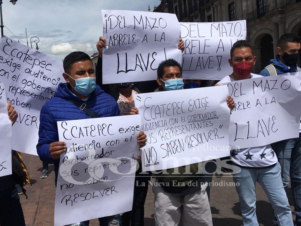 Alcalde de Ecatepec exige solución a desabasto de agua - Jul 30, 2021