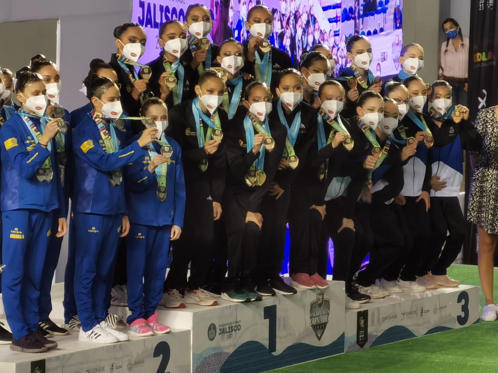 Selección mexiquense de natación destaca en Juegos Nacionales Conade 2021 - Jul 20, 2021