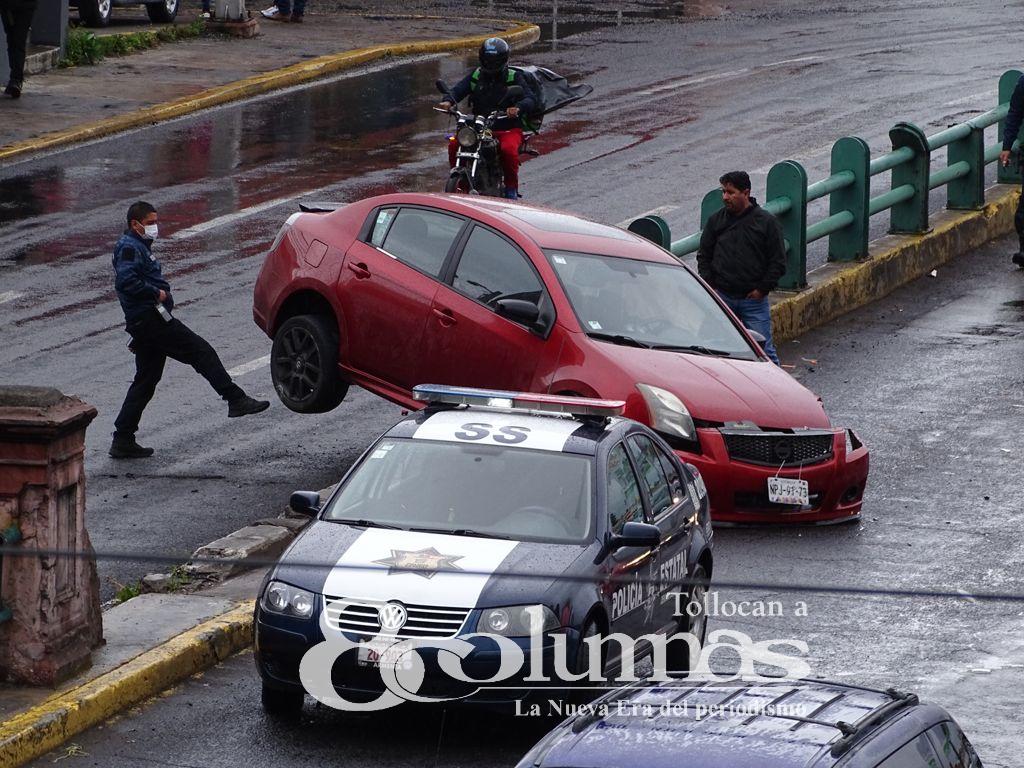 Se registran accidentes en el Valle de Toluca - Ago 21, 2021