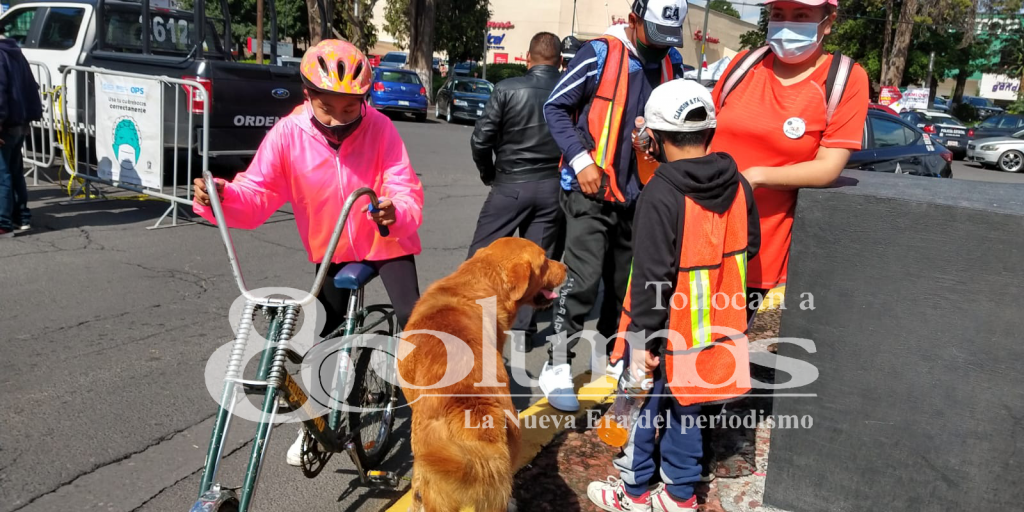 """Familias toluqueñas participaron en la justa deportiva """"BiciClásicas"""" - Ago 22, 2021"""