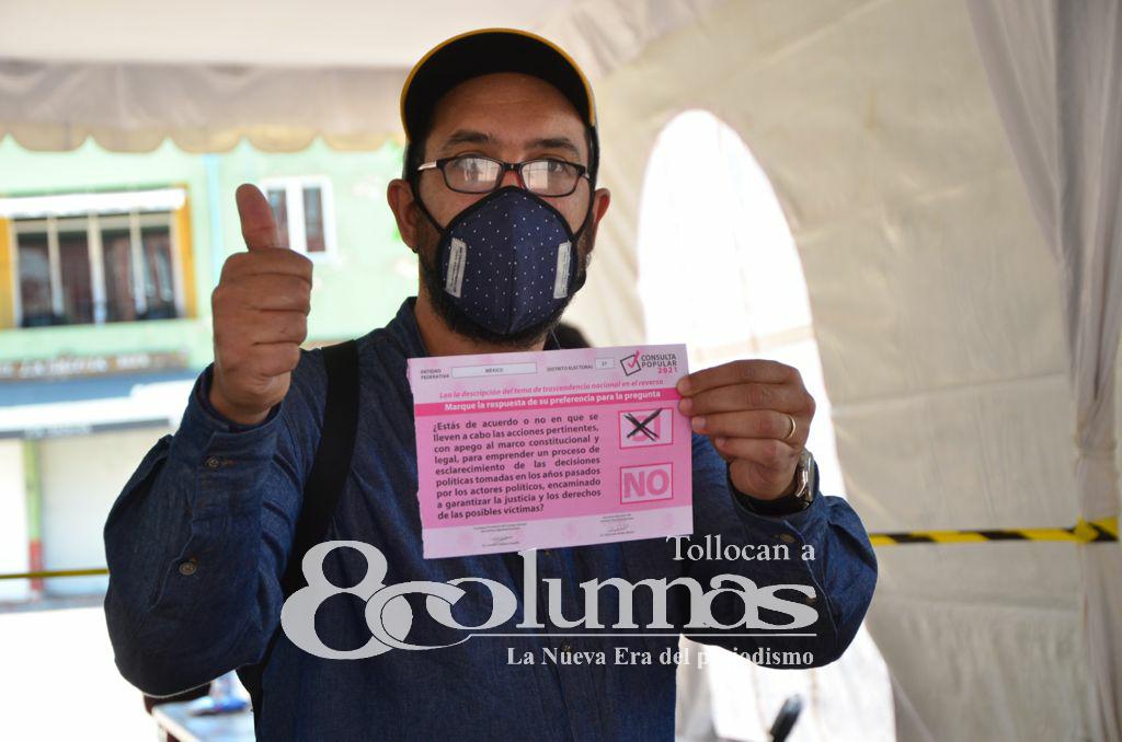 En Edoméx, Consulta Popular obtiene participación ciudadana del 8.1% - Ago 2, 2021