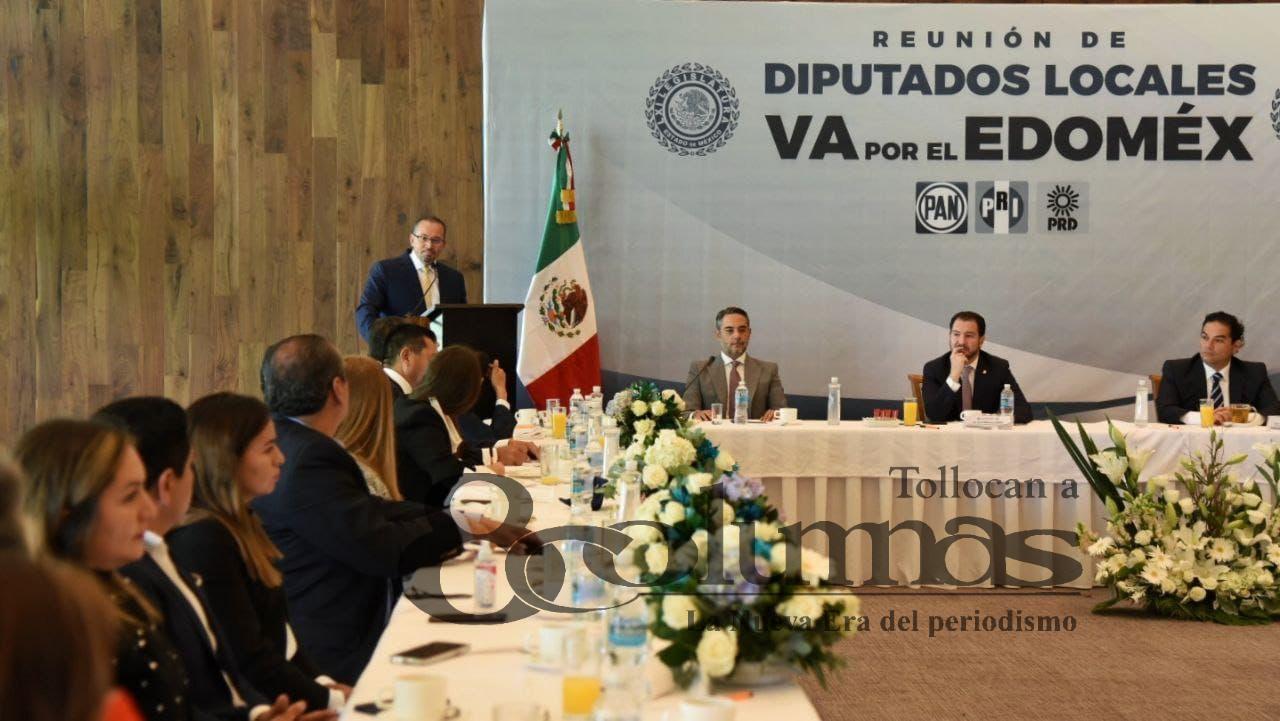 Coalición PAN-PRI-PRD refrenda su alianza en la LXI Legislatura - Ago 30, 2021