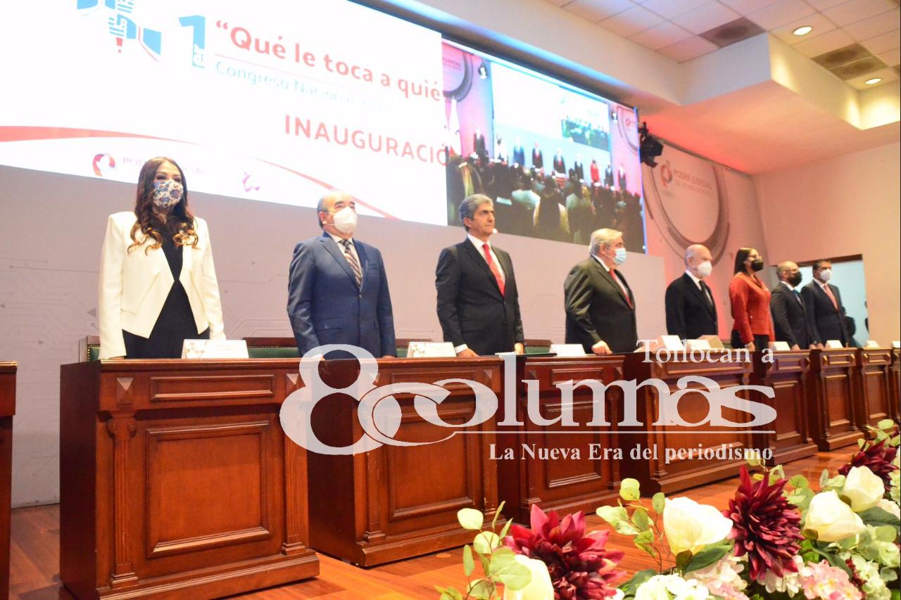 """Inauguran Primer Congreso Nacional Federalismo Judicial """"Qué le toca a quién"""" - Ago 25, 2021"""