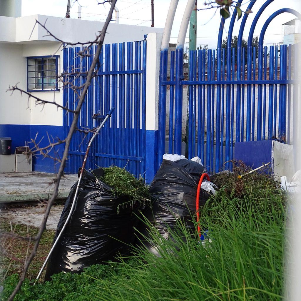 Escuela secundaria en Colonia Del Parque con actos de vandalismo - Ago 24, 2021