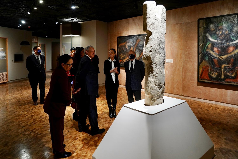 """Andrés Manuel López Obrador Inaugura la exposición """"La Grandeza de México"""" - Sep 27, 2021"""