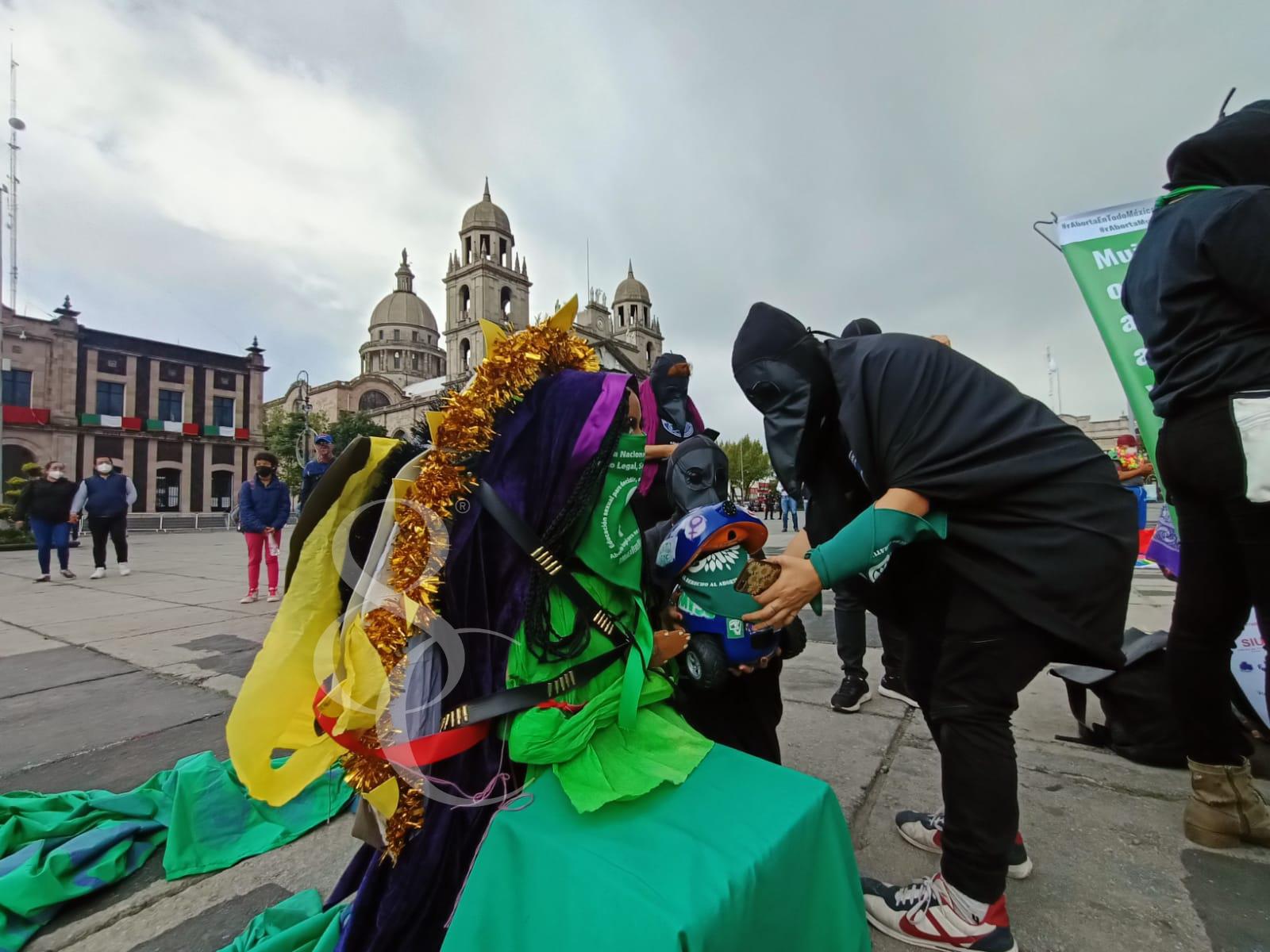 Aborto legal y seguro claman en Toluca - Sep 28, 2021