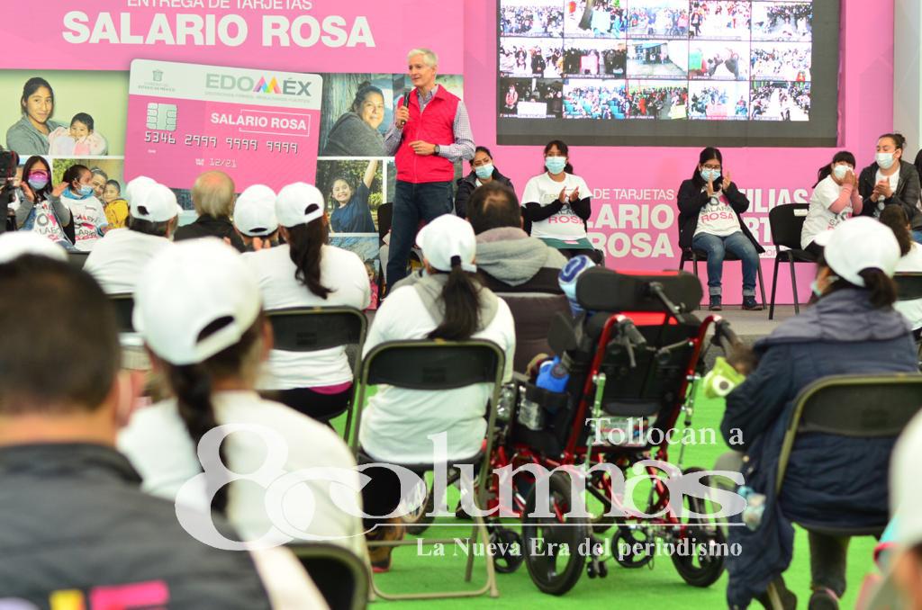 Llega Salario Rosa a 6 mil mujeres embarazadas y a quienes tienen algún familiar con discapacidad - Sep 14, 2021