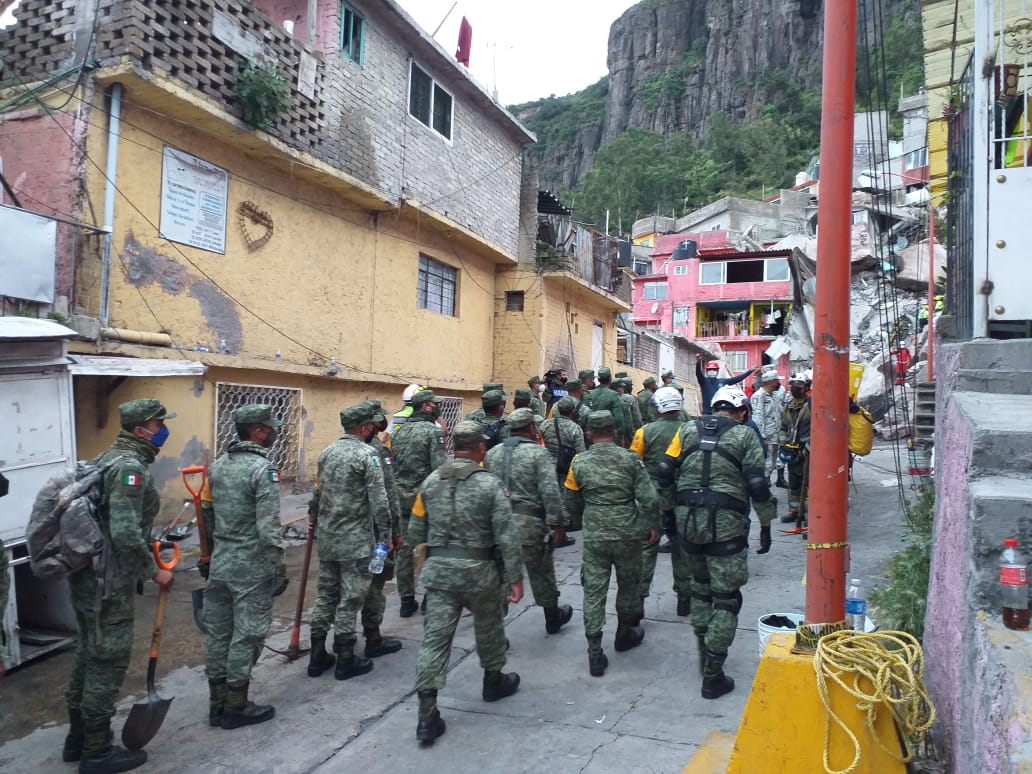 80 viviendas del Cerro del Chiquihuite requieren ser evacuadas - Sep 10, 2021