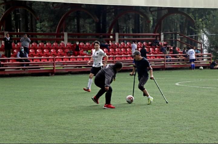 En Edoméx Impulsan deporte adaptado con cuadrangular de futbol - Sep 9, 2021