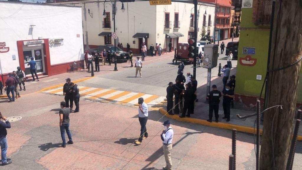 Se arma balacera en Metepec, hay un muerto e involucrado un taxi - Sep 22, 2021