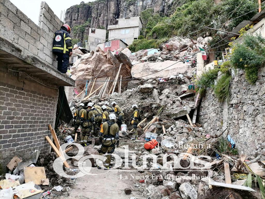 Notifican a 142 viviendas para evacuar el Cerro del Chiquihuite; el 60% ya lo hizo - Sep 16, 2021
